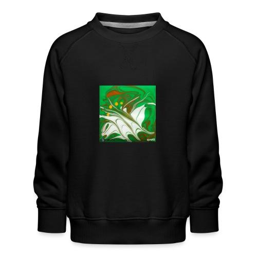 TIAN GREEN Mosaik CG002 - quaKI - Kinder Premium Pullover