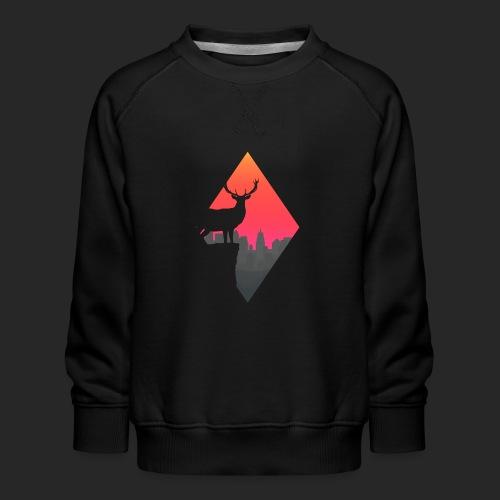 Sunset Deer - Kids' Premium Sweatshirt