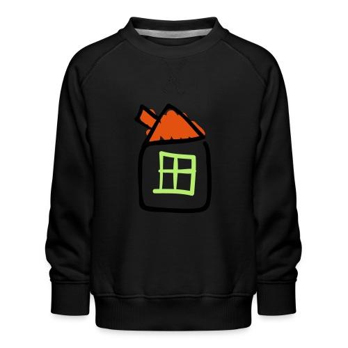 House Line Drawing Pixellamb - Kinder Premium Pullover