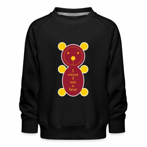 I swear I am a bear 001 - Kinderen premium sweater