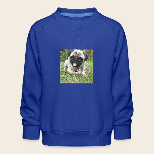 Mops Wiese - Kinder Premium Pullover