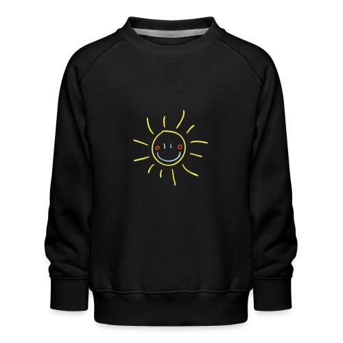 Sun Child s Drawing Pixellamb - Kinder Premium Pullover