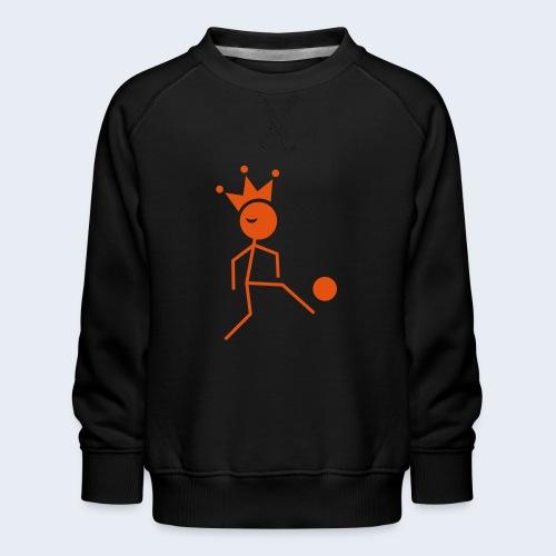 Voetbalkoning - Kinderen premium sweater