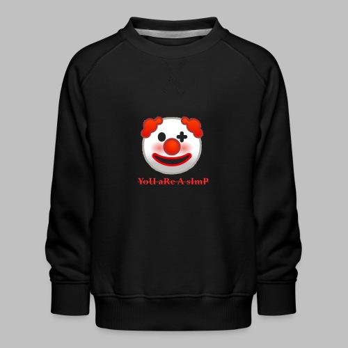 Clown Emoji - Kinderen premium sweater
