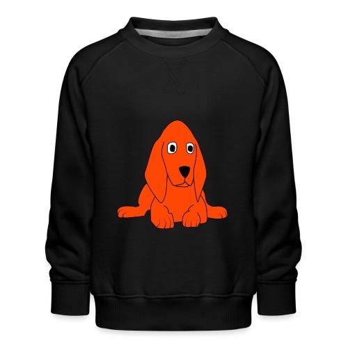 orange dog - Felpa premium da bambini