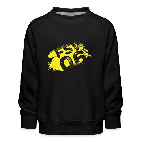Hildburghausen FSV 06 Graffiti gelb - Kinder Premium Pullover