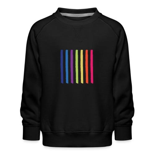 Linjer - Børne premium sweatshirt