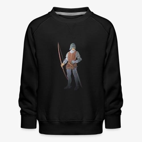 Archers Brace Yourselves patjila - Kids' Premium Sweatshirt