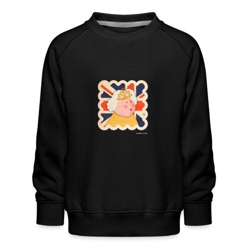 The Queen - Kids' Premium Sweatshirt