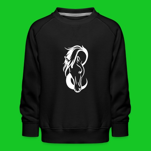 Paardenhoofd line - Kinderen premium sweater