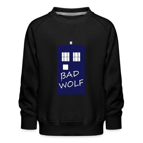 Bad Wolf Tardis - Sweat ras-du-cou Premium Enfant