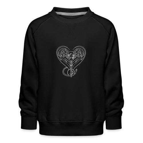 Sphinx valentine white - Kids' Premium Sweatshirt