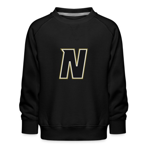 Nordic Steel Black N - Kids' Premium Sweatshirt
