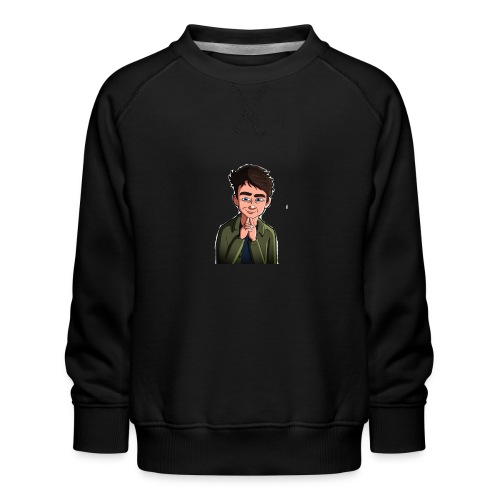 Turtle Vibez Logo - Kids' Premium Sweatshirt