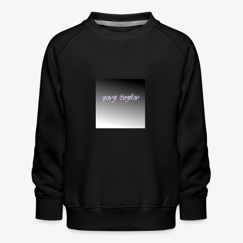 gary taylor OFFICIAL .e.g - Kids' Premium Sweatshirt