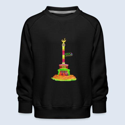 Siegessäule Berlin PopArt ickeshop BachBilder - Kinder Premium Pullover