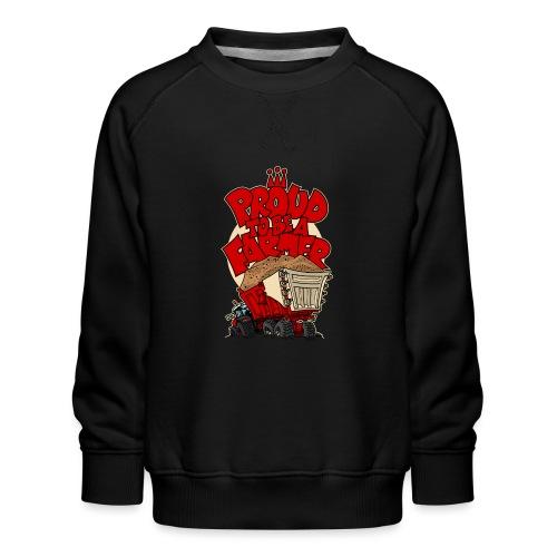 0956 proud to be a farmer ZAND - Kinderen premium sweater