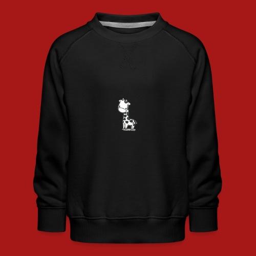 CuteBaby Giraf - Børne premium sweatshirt