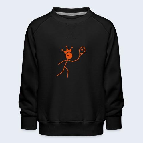Tenniskoning - Kinderen premium sweater