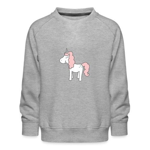 unicorn as we all want them - Børne premium sweatshirt