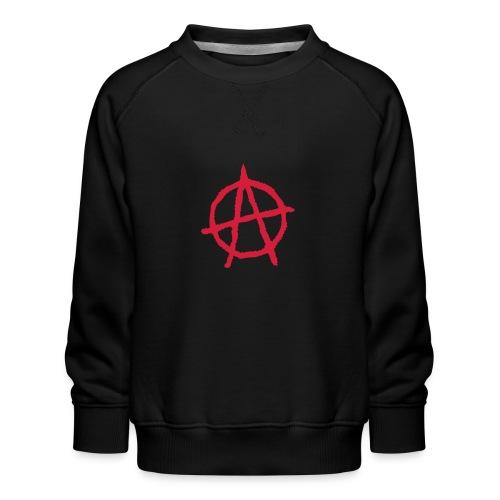 Anarchy Symbol - Kids' Premium Sweatshirt