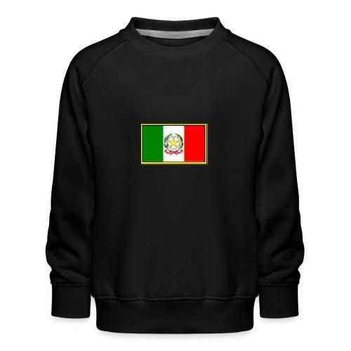 Bandiera Italiana - Felpa premium da bambini