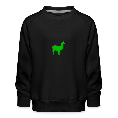 Lama - Kinderen premium sweater