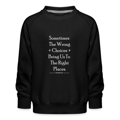 Choices T-shirt Black - Bluza dziecięca Premium