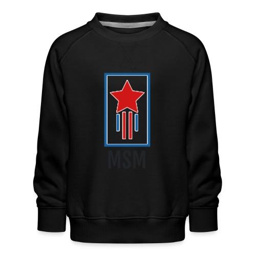 MSM SHOOTING STAR - Børne premium sweatshirt