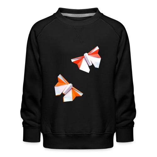 Butterflies Origami - Butterflies - Mariposas - Kids' Premium Sweatshirt