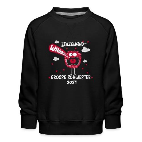 Großer Bruder 2021 lustiges Monster - Kinder Premium Pullover