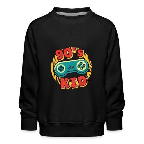 90s Kid Kinder der 90er Jahre Gaming - Kinder Premium Pullover