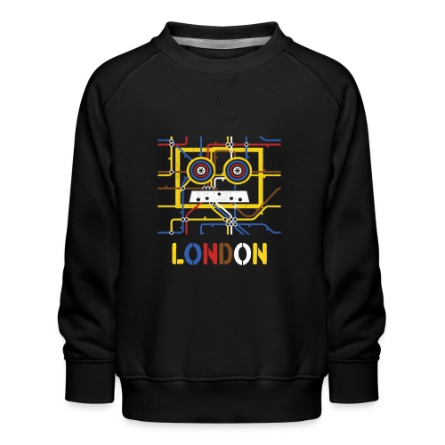 London Tube Map Underground - Kinder Premium Pullover