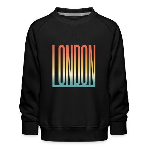 London Souvenir England Simple Name London - Kinder Premium Pullover