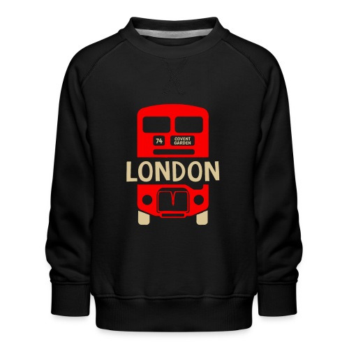 London Bus Roter Doppeldecker London Fan Souvenir - Kinder Premium Pullover