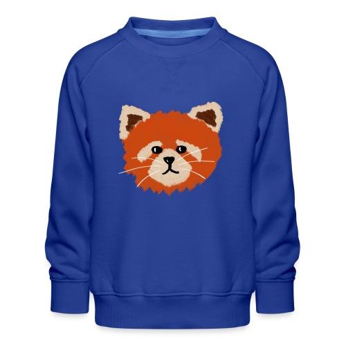 Amanda the red panda - Kids' Premium Sweatshirt