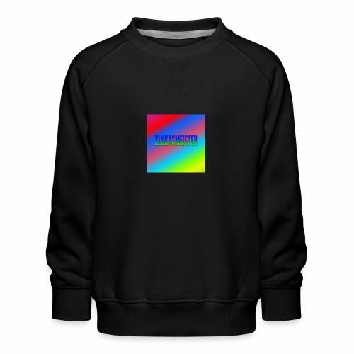 Lukas Minecraft Navn - Børne premium sweatshirt