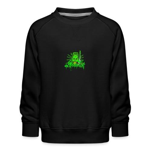GFSkullOnlyColorShirt - Kids' Premium Sweatshirt