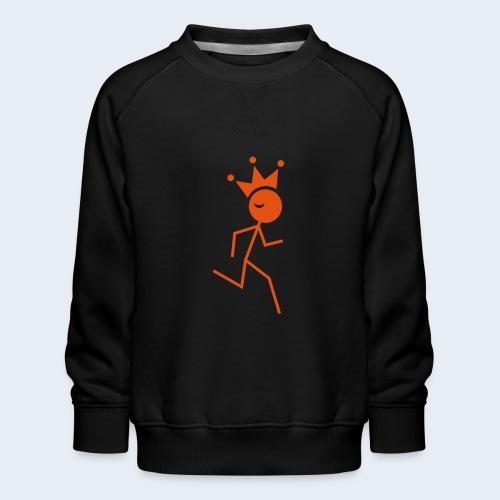 Hardloopkoning - Kinderen premium sweater