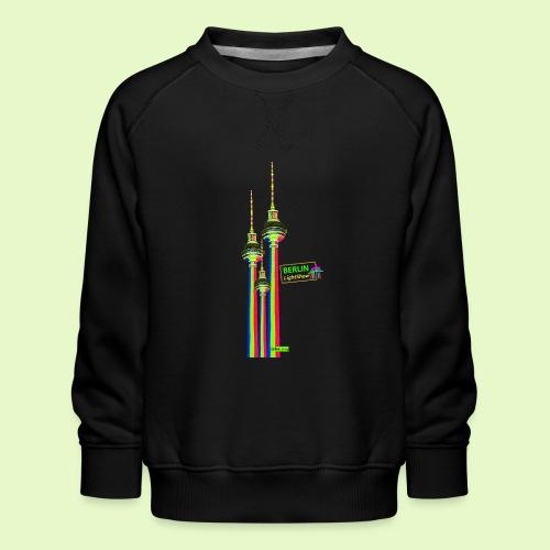 Fernsehturm / BerlinLightShow im Triple-Look - Kinder Premium Pullover