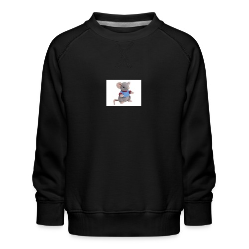 rotte - Børne premium sweatshirt
