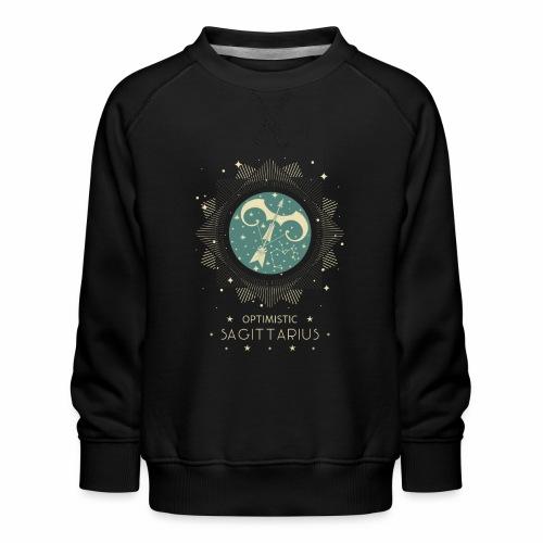 Sternbild Optimistischer Schütze November Dezember - Kinder Premium Pullover