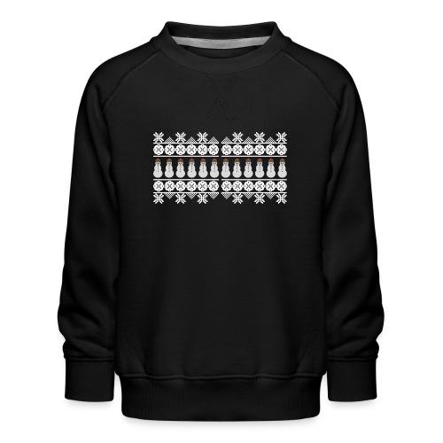 Ugly Christmas Weihnachten Xmas Norweger Design - Kinder Premium Pullover