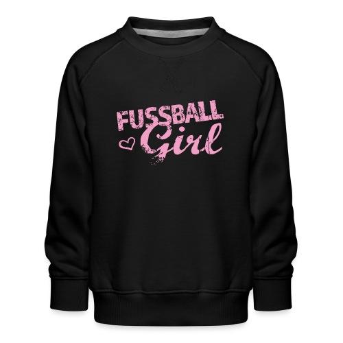 Fußball Girl - Kinder Premium Pullover