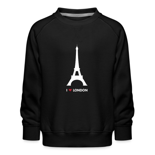 I love London - Kinderen premium sweater