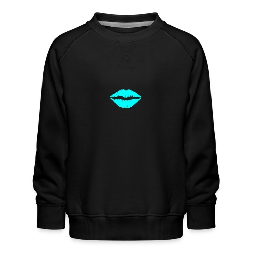 Blue kiss - Kids' Premium Sweatshirt