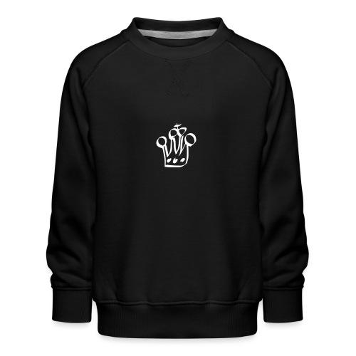 MTeVrede 6 kroon wit2 - Kids' Premium Sweatshirt