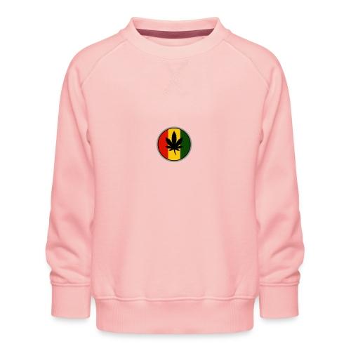 weed logo - Børne premium sweatshirt