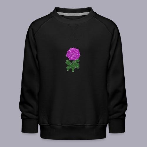Landryn Design - Pink rose - Kids' Premium Sweatshirt