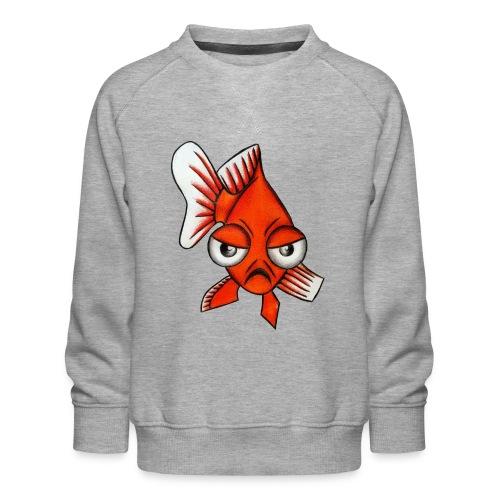 Angry Fish - Sweat ras-du-cou Premium Enfant
